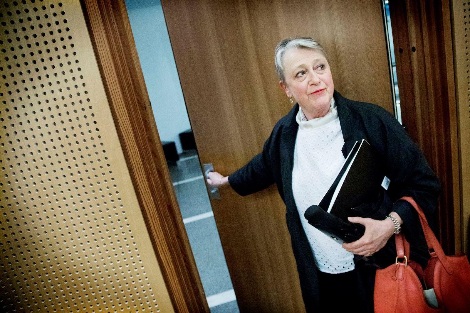 Berit Reiss-Andersen er en av advokatene som er blitt saksøkt av Christian Ringnes.