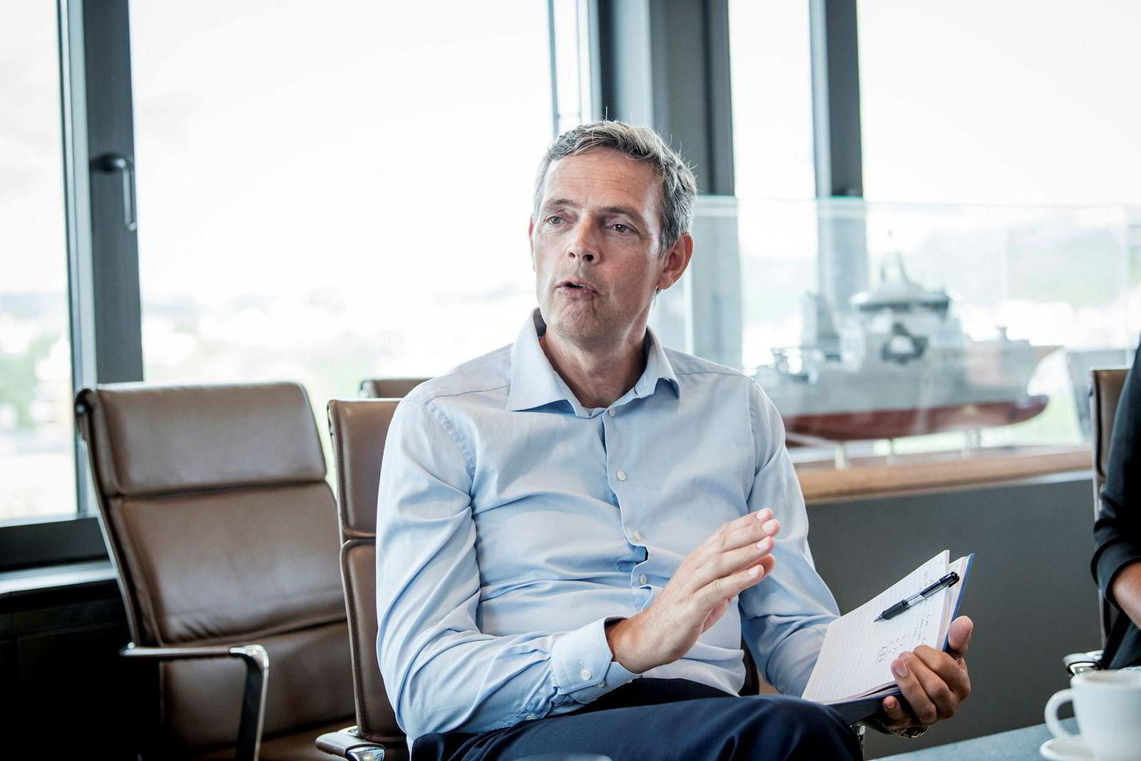 Råvareanalysesjef Bjarne Schieldrop i SEB