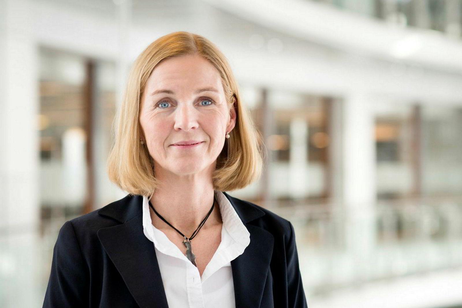 Merete Gillund, informasjonsdirektør i Bank Norwegian.