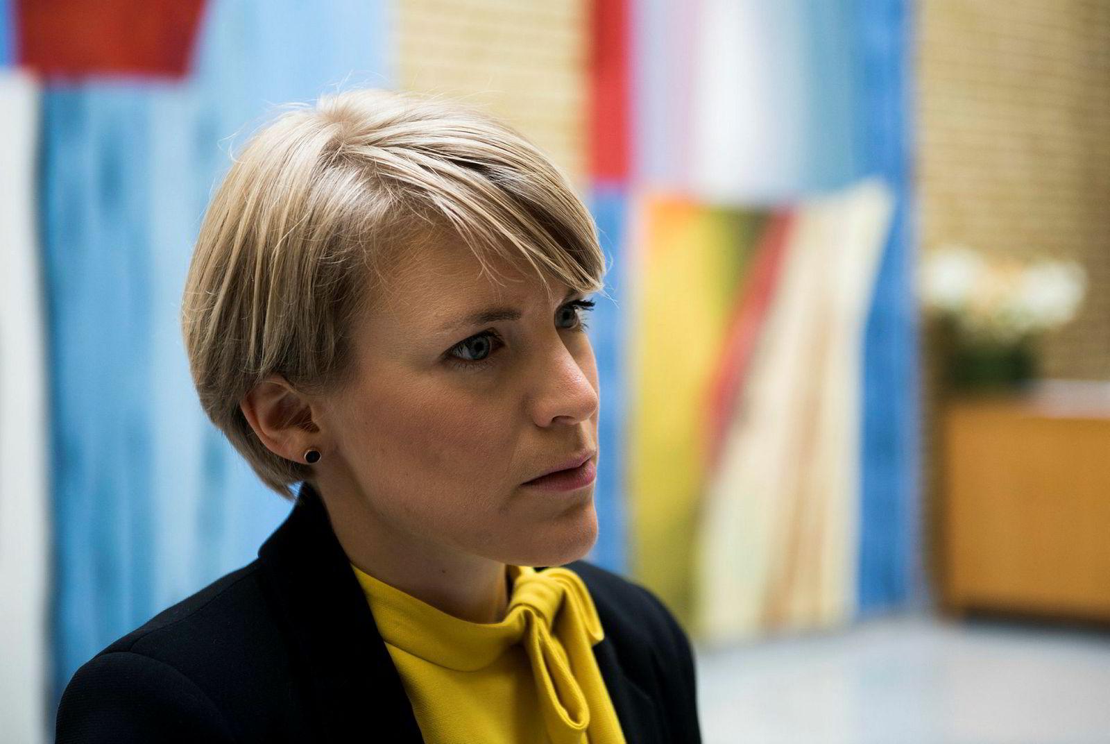 Kari Elisabeth Kaski er finanspolitisk talsperson i SV.