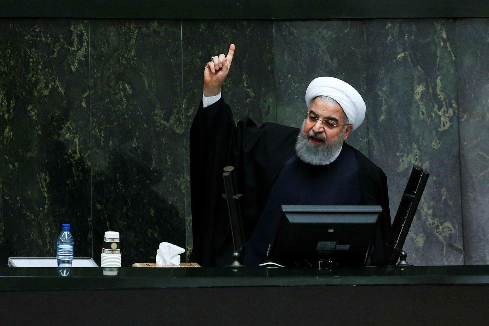 Irans president Hassan Rouhani skapte store forventninger til en bedre økonomiske fremtid etter atomavtalen i 2015, men mange iranere opplever ikke at situasjonen er bedret.