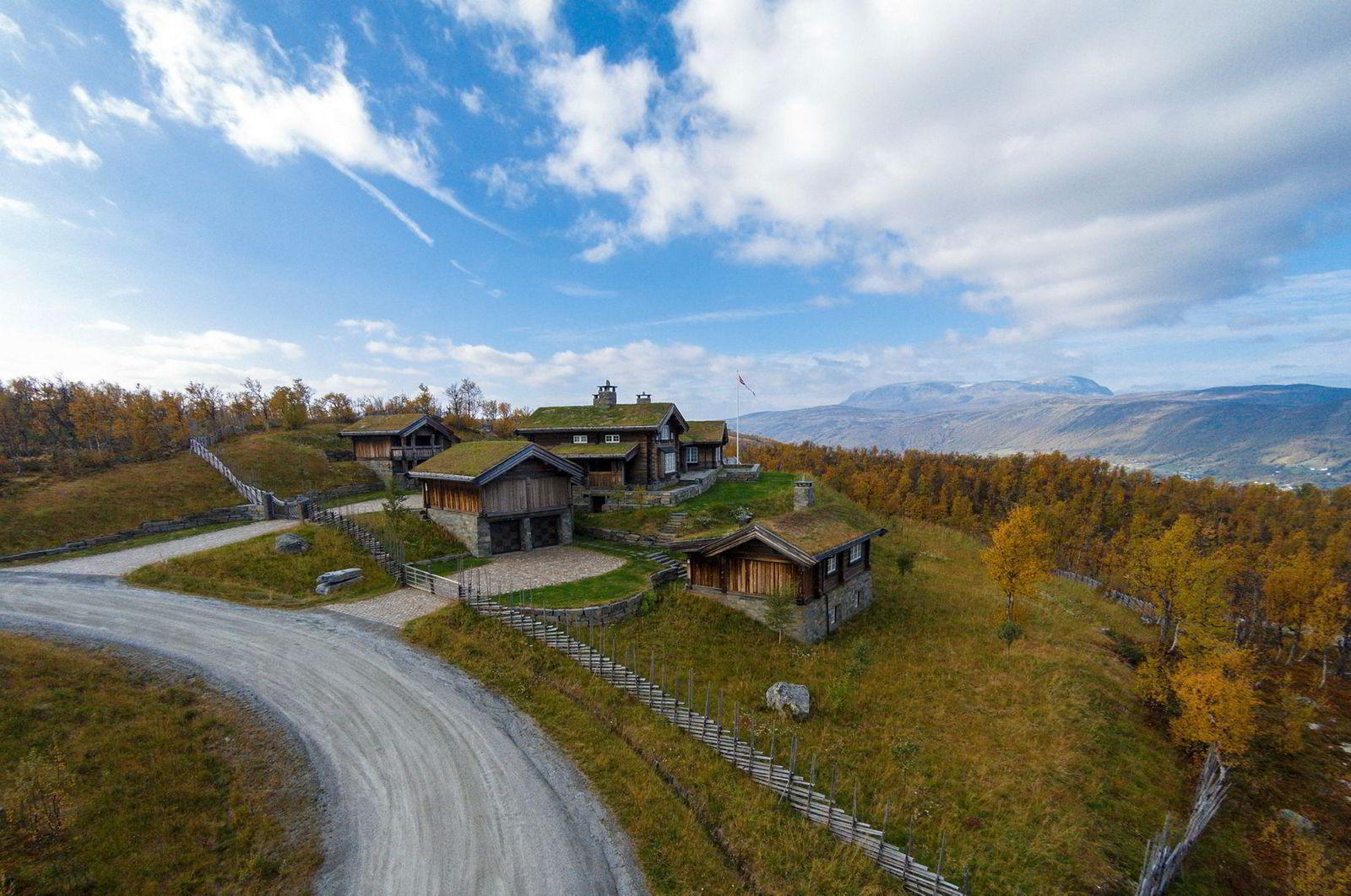 Geilo-hytta som Aage Thoresen ga 44 millioner kroner for tidligere i høst har et boareal på 780 kvadratmeter.