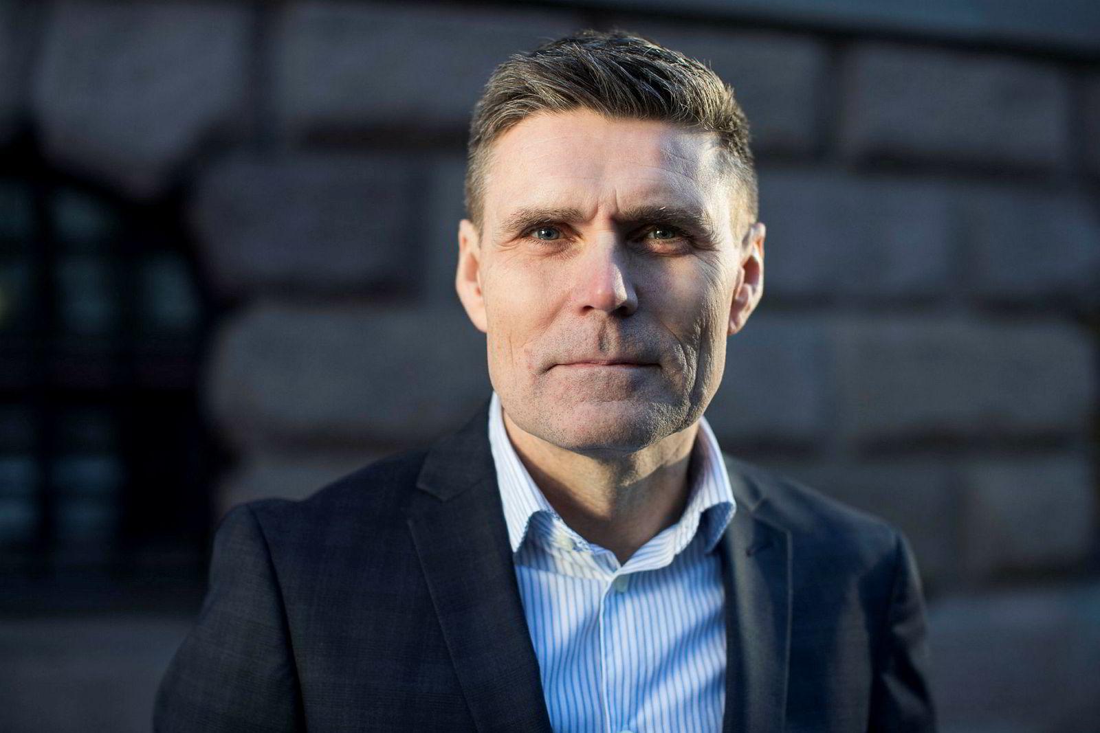 Statssekretær i Finansdepartementet Geir Olsen (V)
