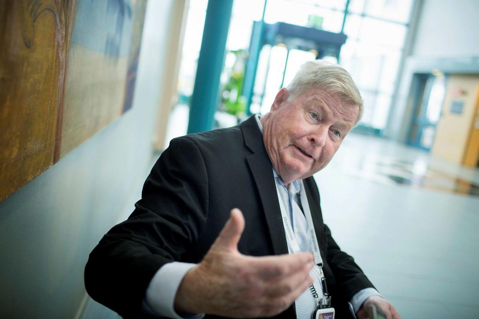 Tidligere BI-rektor og sjef for Lorange Institute of Business i Zürich, Peter Lorange, under NHH-Symposiet 2017.