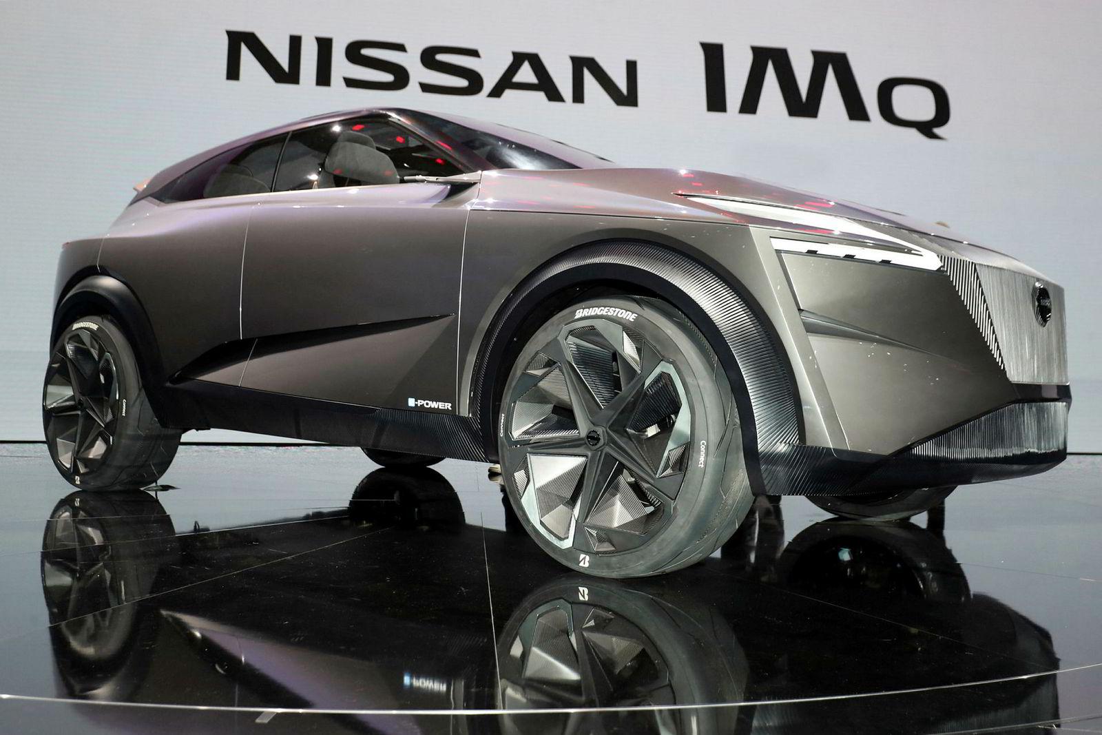 Nissan IMQ i Genève 2019.
