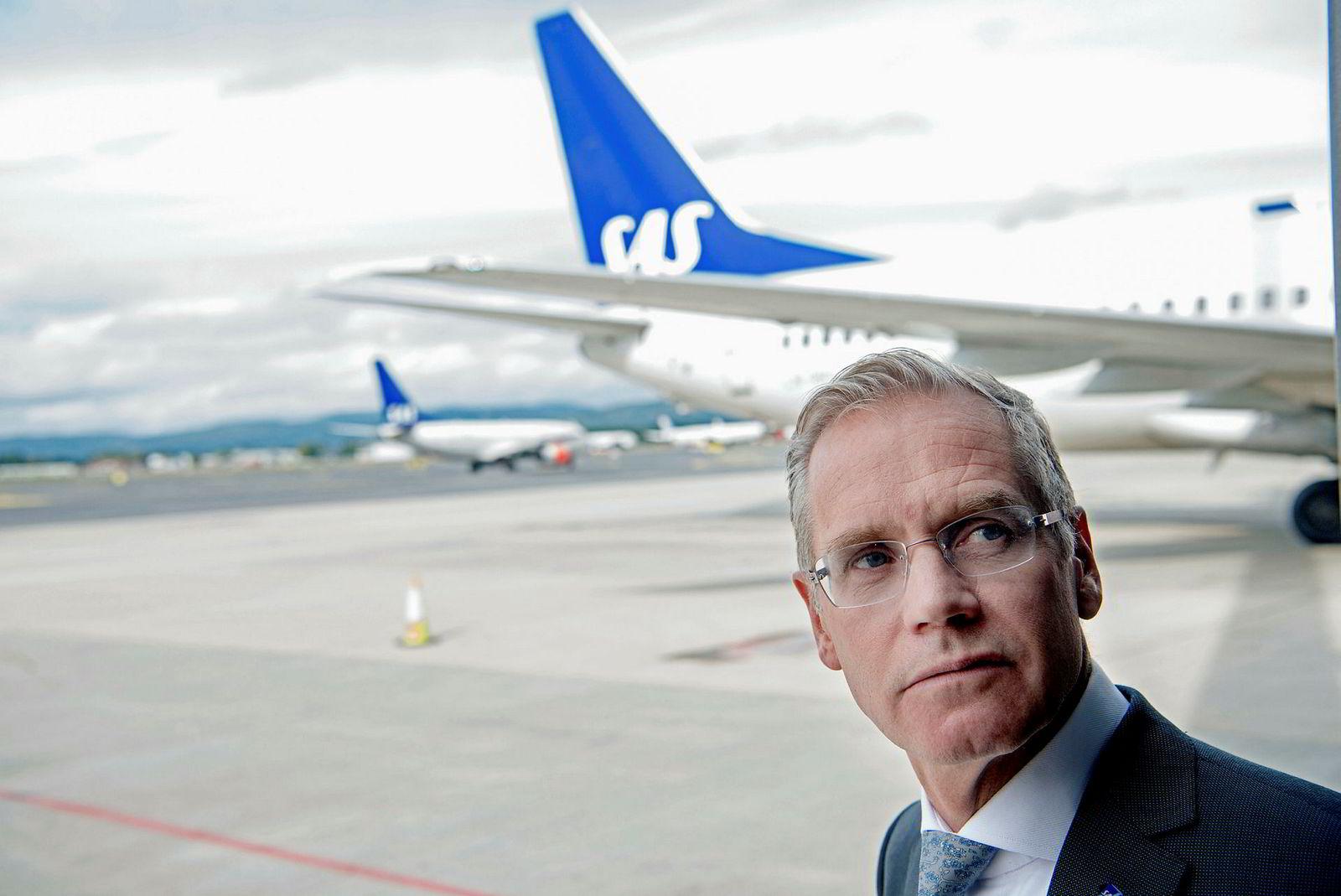 – Vi trenger å modernisere hvordan vi kommuniserer og forhandler med våre ansatte, sier SAS-sjef Rickard Gustafson.