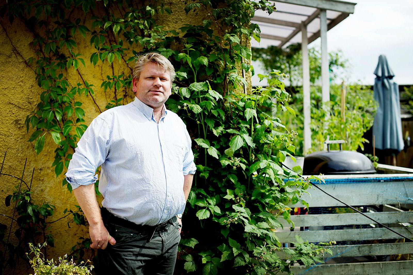 Studiedekan Erling Hjelmeng ved det juridiske fakultetet.