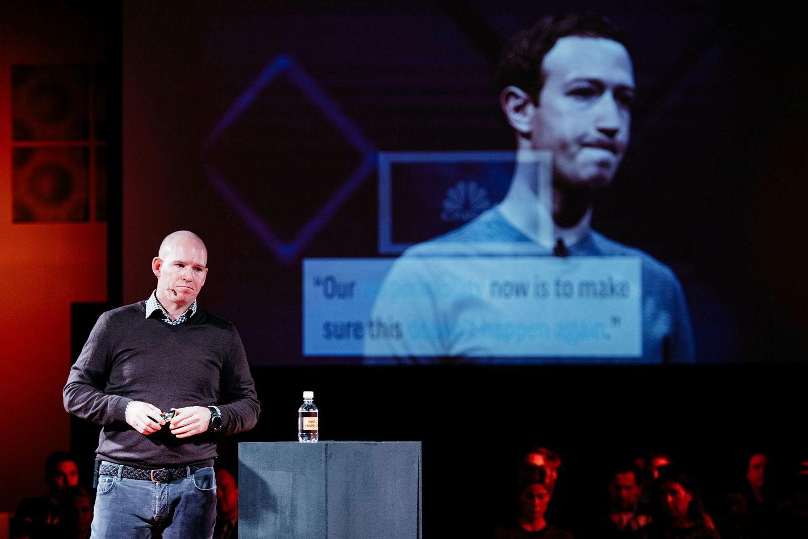 Rune Paulseth, sjef i Facebook Norway.