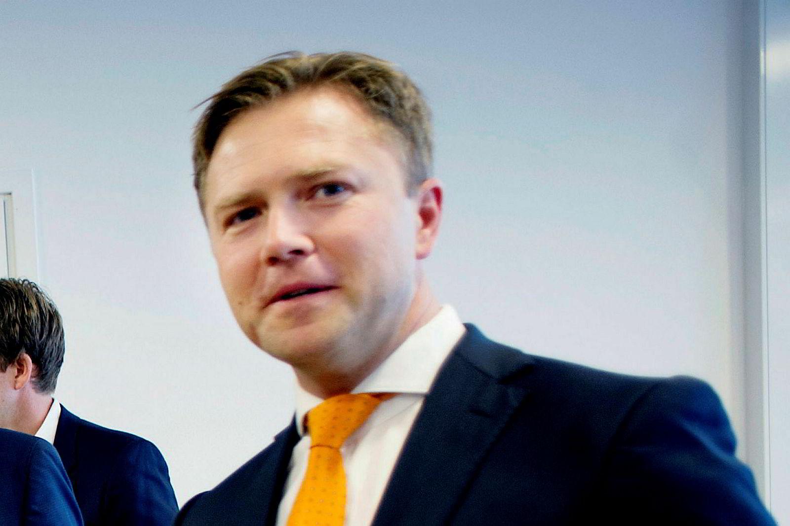 Analytiker Martin Stenshall, Danske Bank.