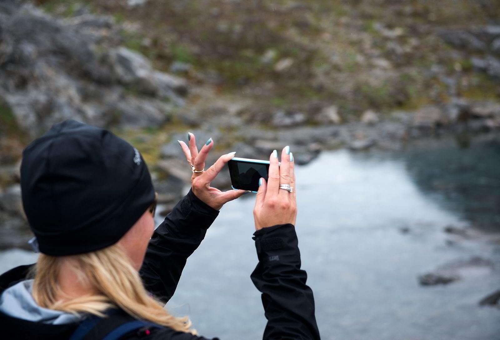 Mona Andersson foreviger den vakre naturen.