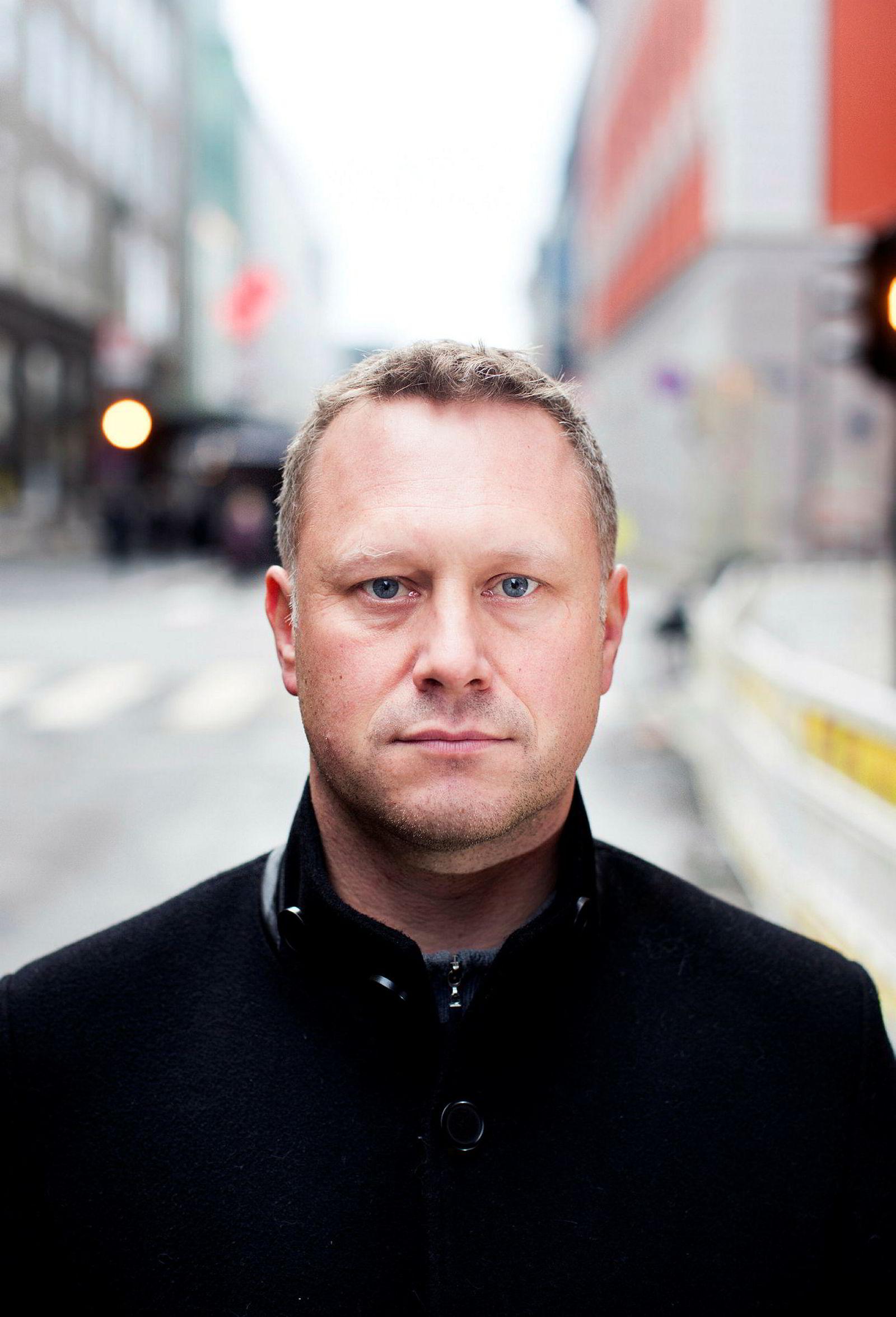 Administrerende direktør i Induct, Alf Martin Johansen.