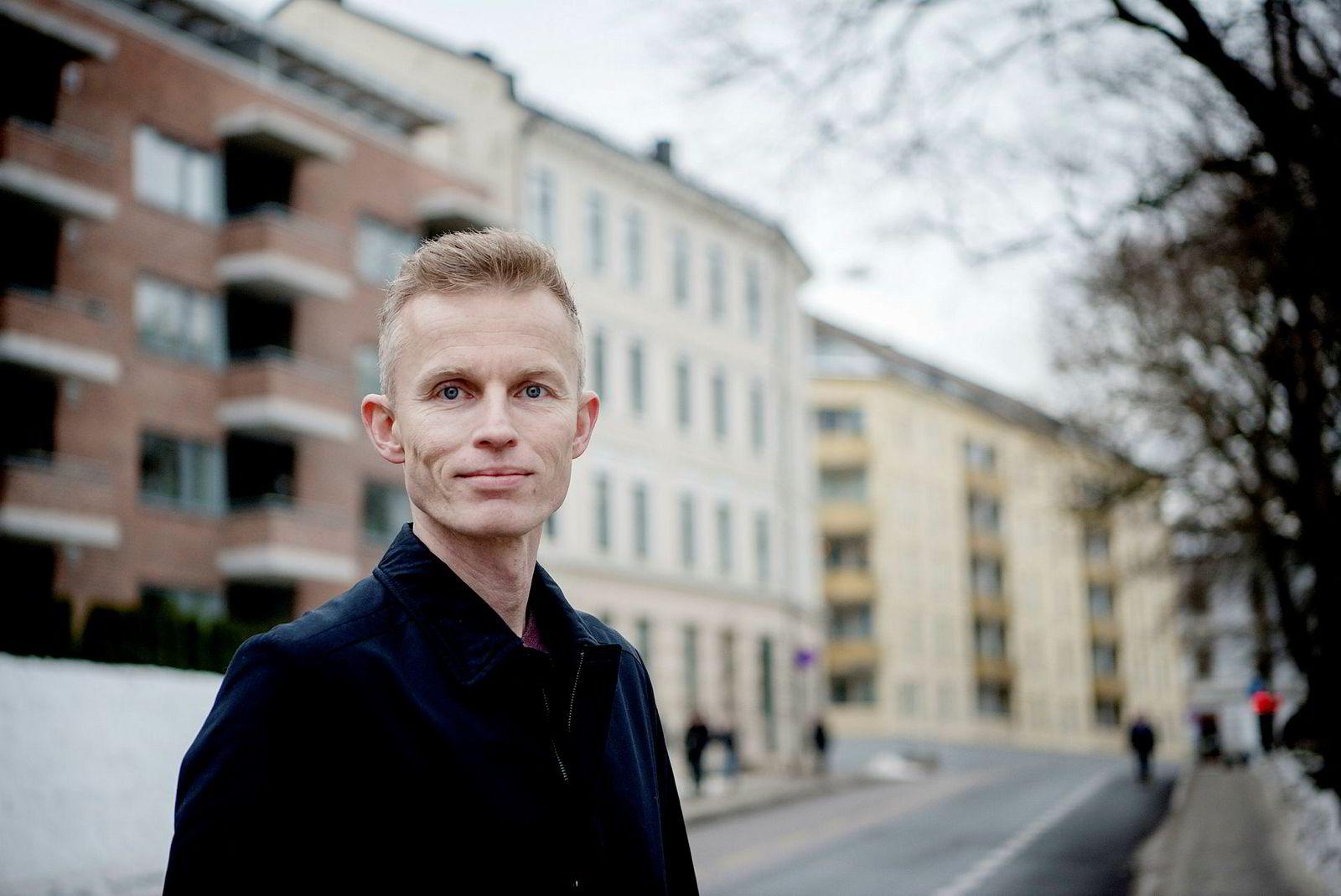 Sjeføkonom Andreas Benedictow i Samfunnsøkonomisk analyse tror lav boligprisvekst er like rundt hjørnet.