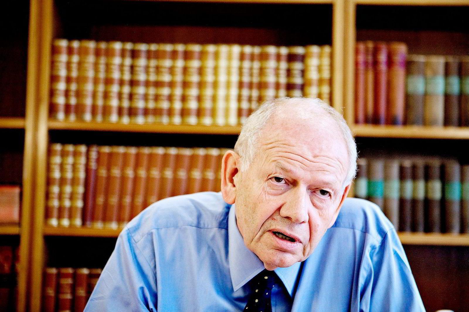 Tidligere Hydro-sjef Egil Myklebust (73) er storaksjonær og styreleder i Otivio.