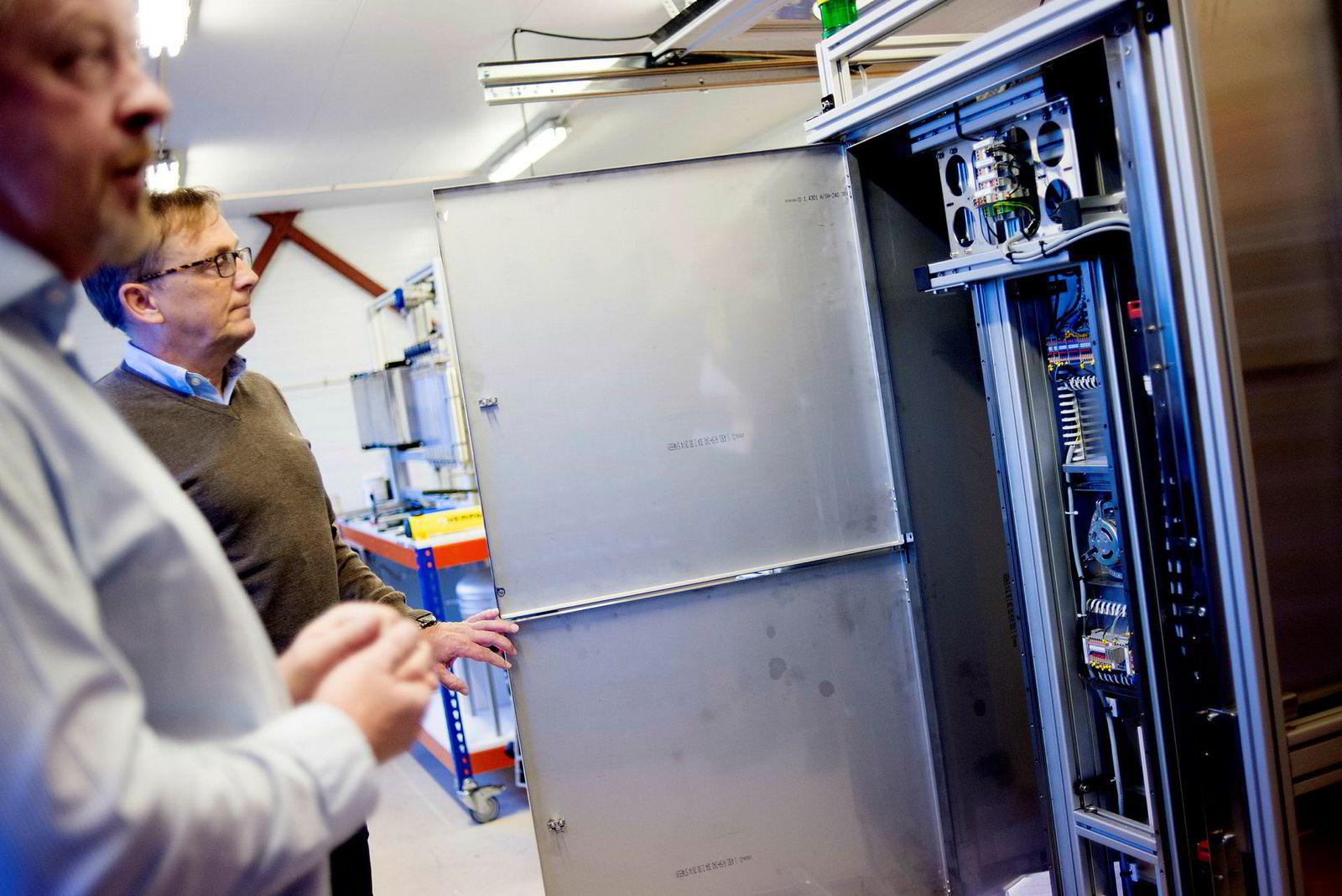 Dette analysesystemet bygger RS Systems for forskningsinstituttet Iris i Stavanger.