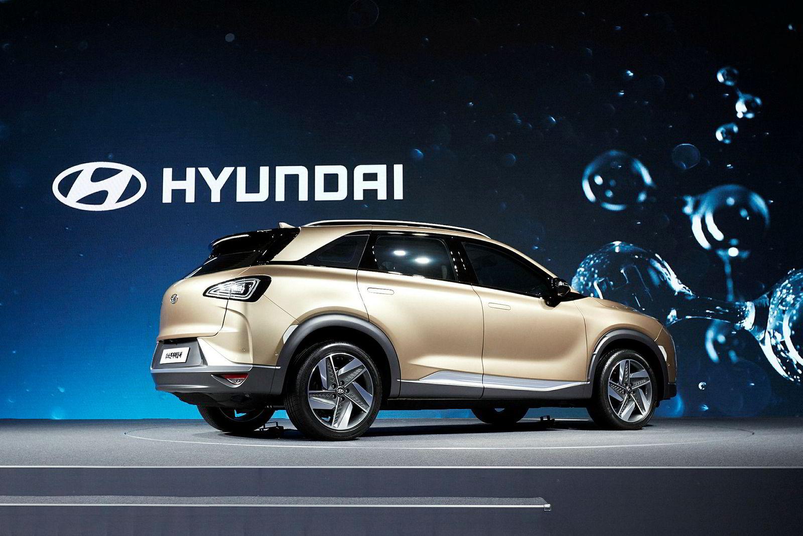 Bilen debuterer under teknomessen CES i januar neste år. Da får den også et navn.