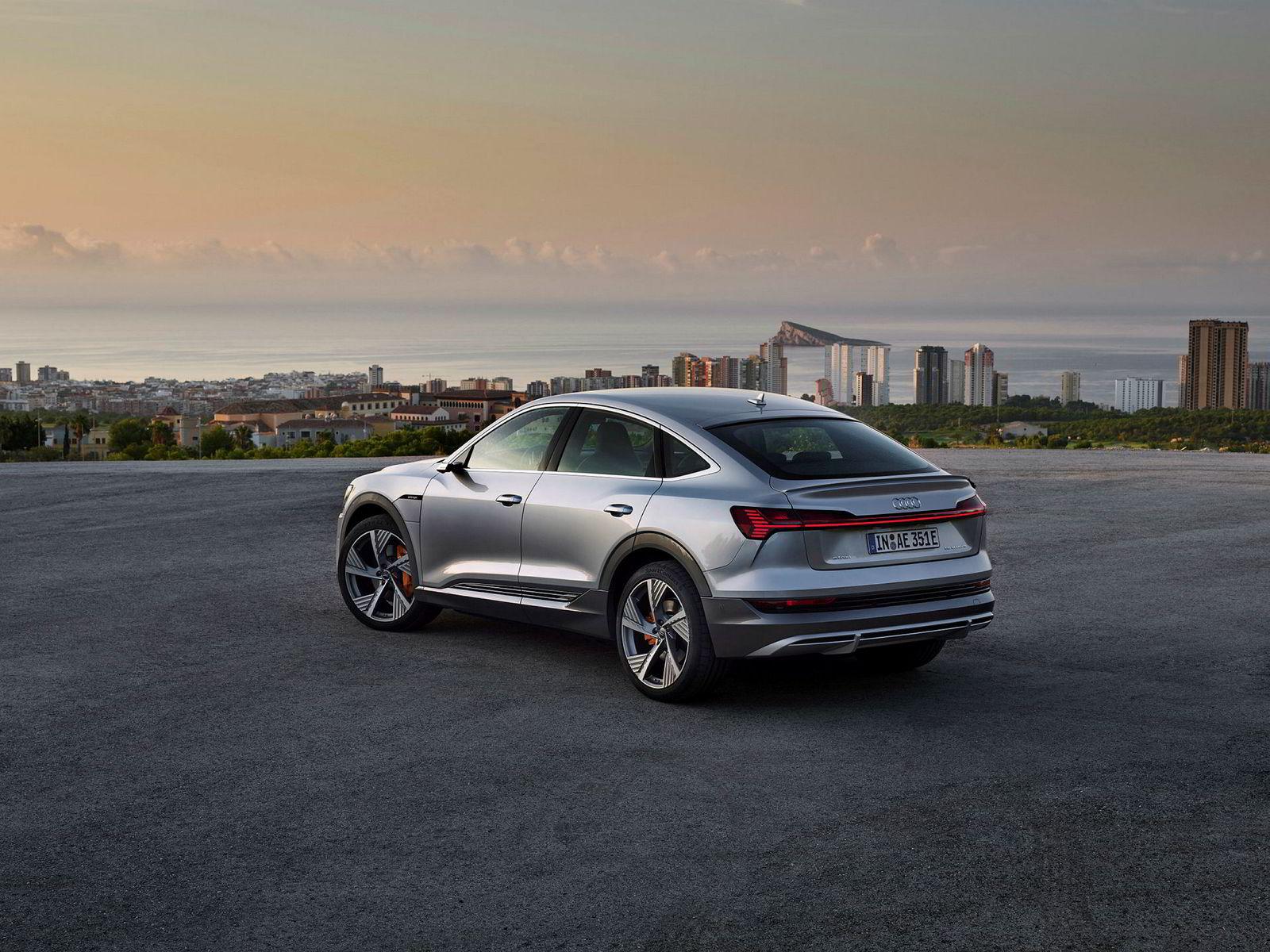 Audi E-tron Sportback kommer til Norge i april.