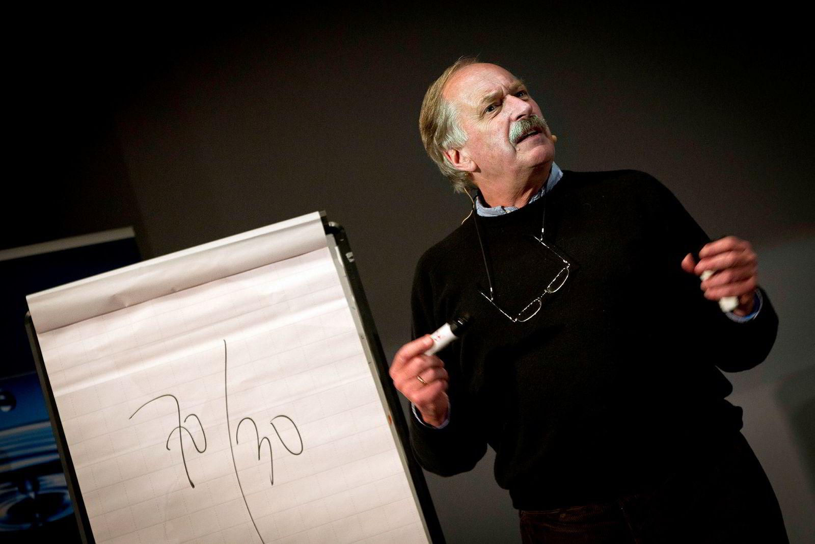 Johan Kaggestad gir denne uken ut en bok med tittelen «Gå! Verdens beste mosjon». Her fra et tidligere foredrag om vinnerkultur for Fokus Bank.