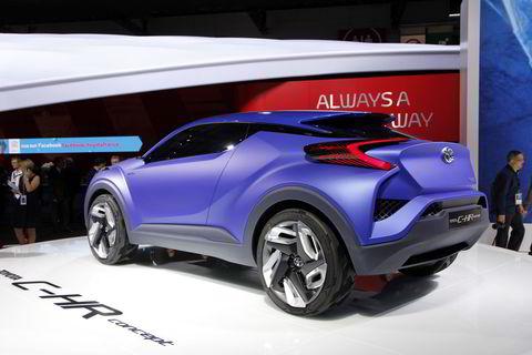 Toyota C-HR concept.