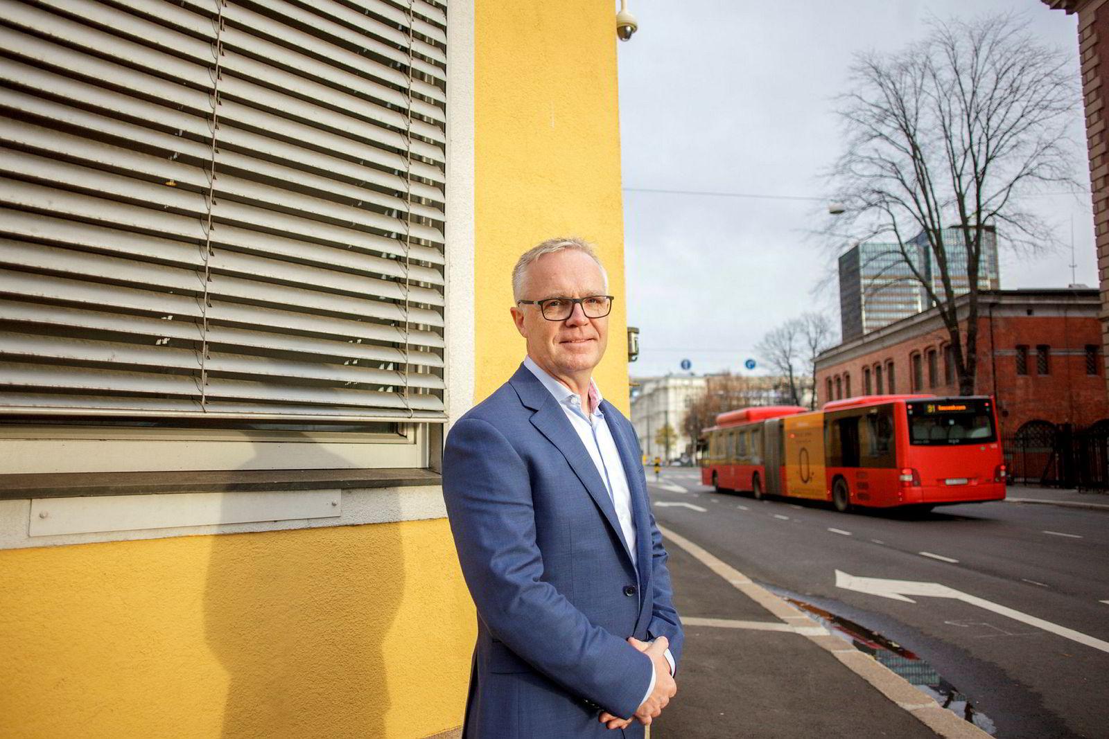 Raimond Pettersen, administrerende direktør i Komplett Bank.