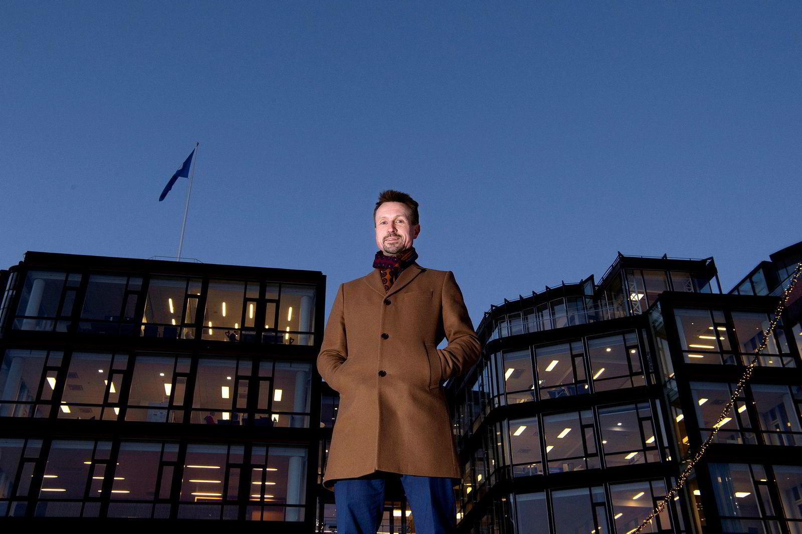 Claes Watndal, administrerende direktør i Mentis Cura, som har fått et stort gjennombrudd etter mange års utvikling.