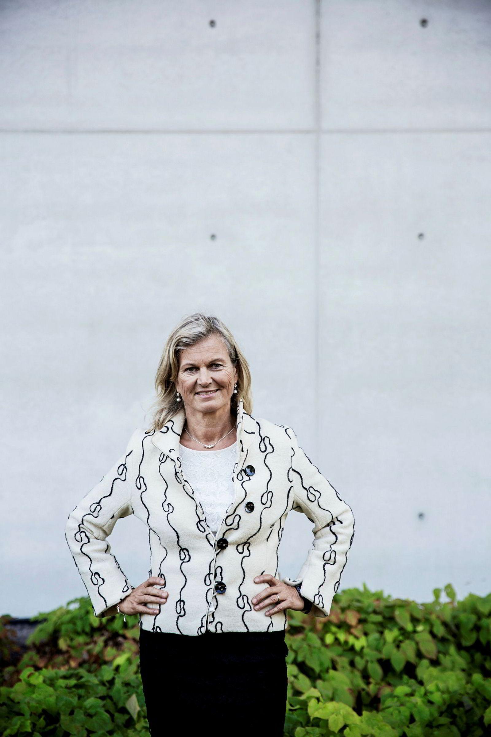 Administrerende direktør i NHO Reiseliv Kristin Krohn Devold.