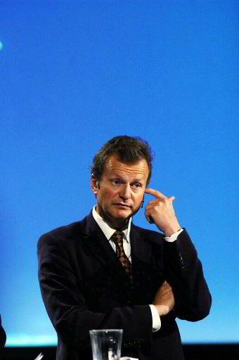 Telenor-sjef John Fredrik Baksaas.