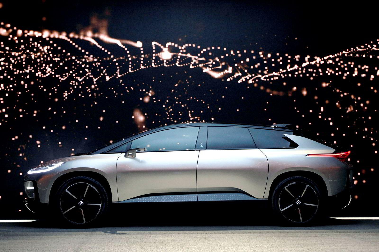 Faraday Future FF 91 er verdens raskeste elektriske bil.