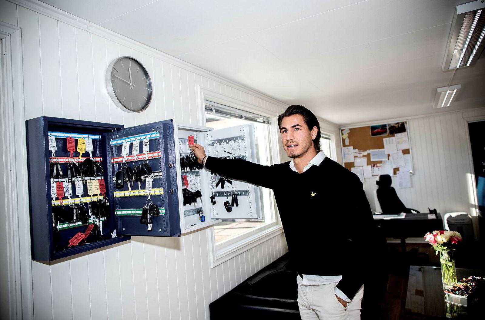 John Faranso er daglig leder i gasellevinneren i Aust Agder, Arendal bil as.