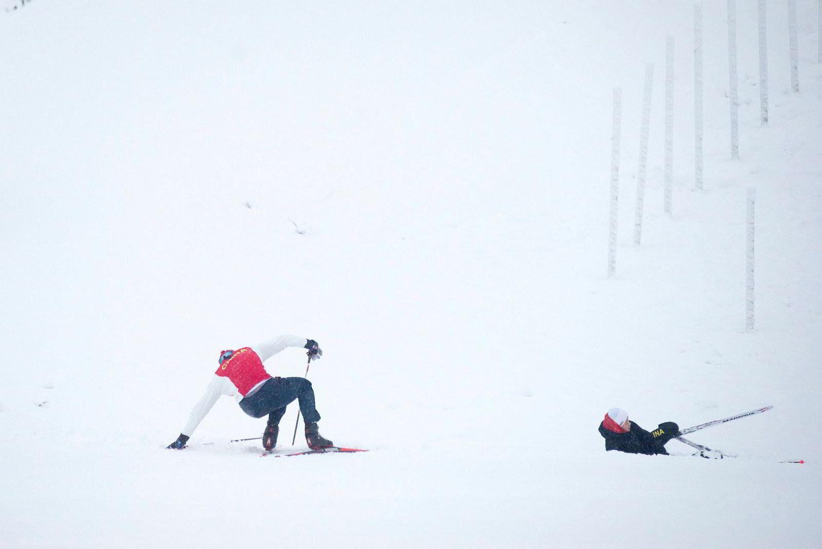 Kineserne blir stadig bedre på ski. Å feile, er veien til suksess. Ordet krise inneholder forresten to tegn på kinesisk, der det ene står for fare og det andre betyr mulighet.