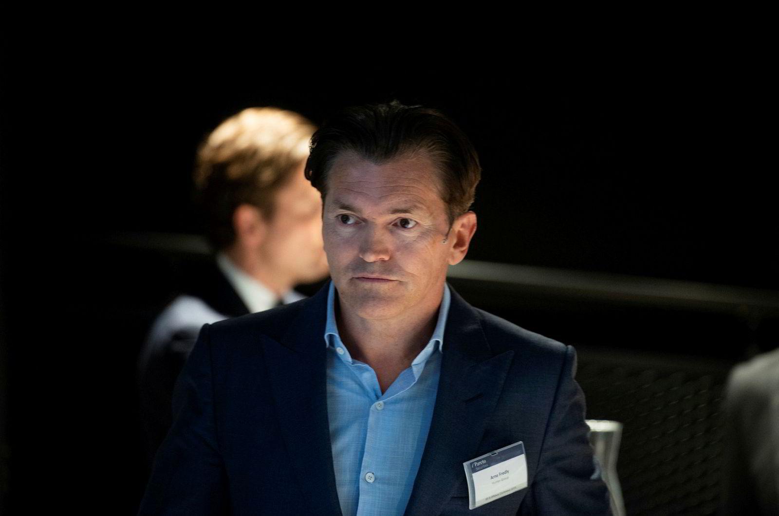 Investor og forretningsmann Arne Fredly.