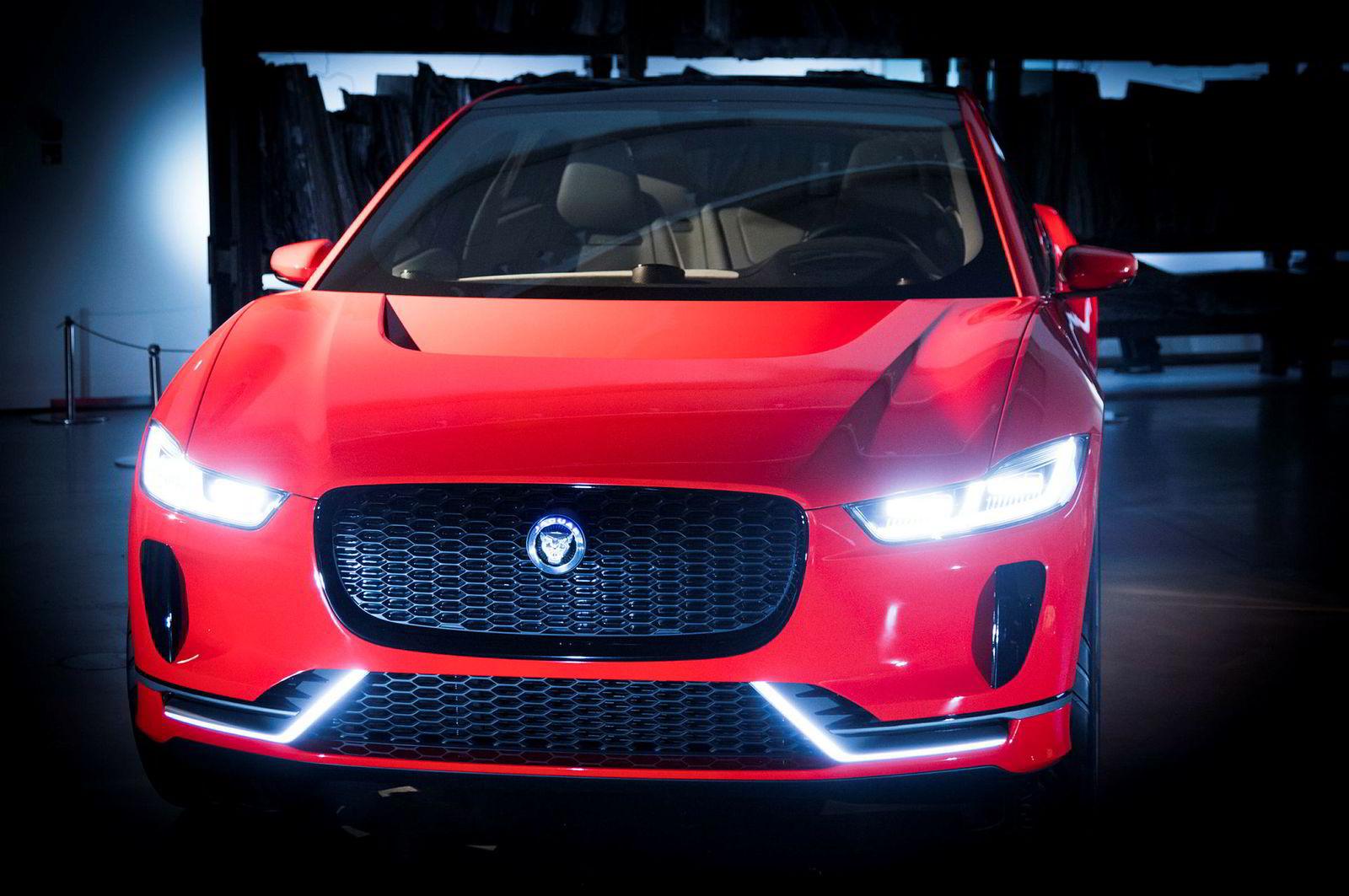 Jaguar I-Pace er foreløpig kun en konseptbil.