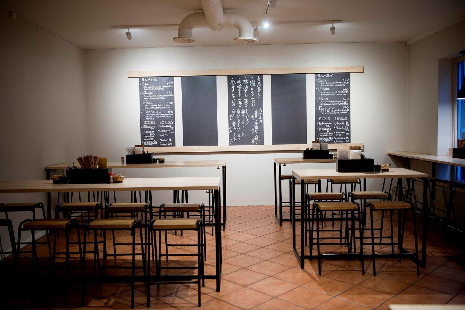 Koie Ramen er en del av restaurantgruppen The Core