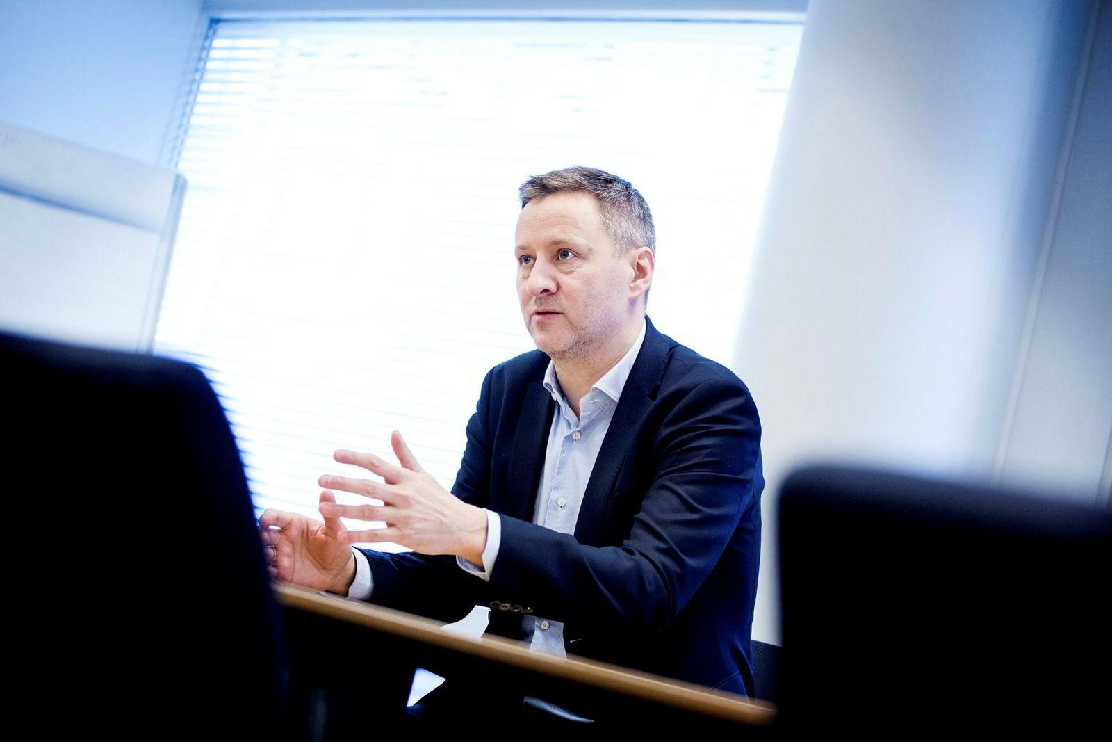 Sjeføkonom i Danske Bank, Frank Jullum.