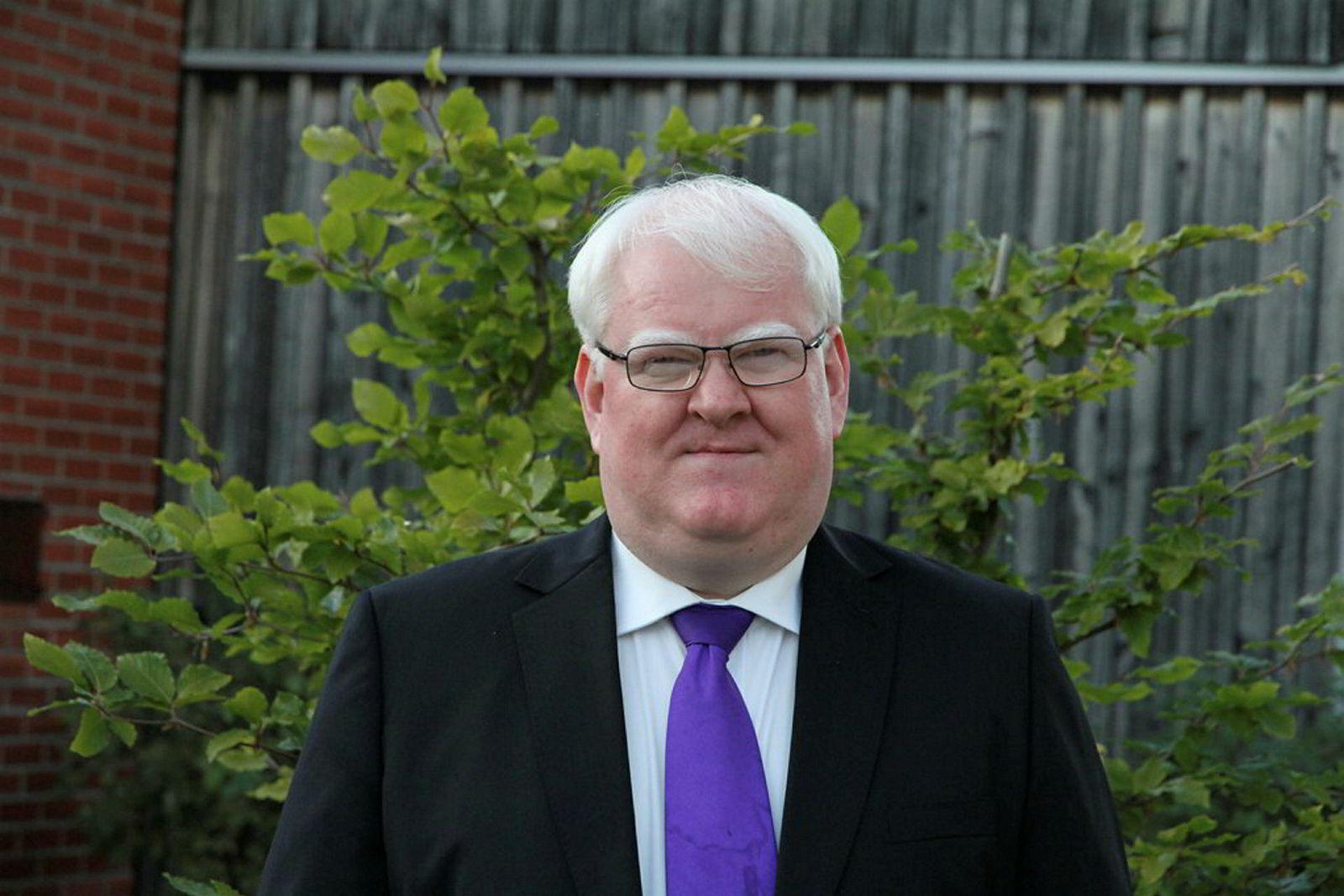 Terje André Olsen, leder i Blindeforbundet.