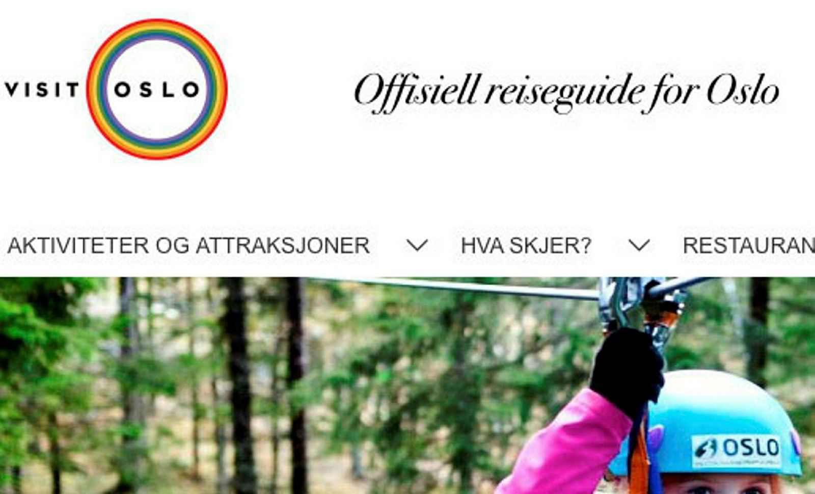 Visit Oslo er kledd for Pride.