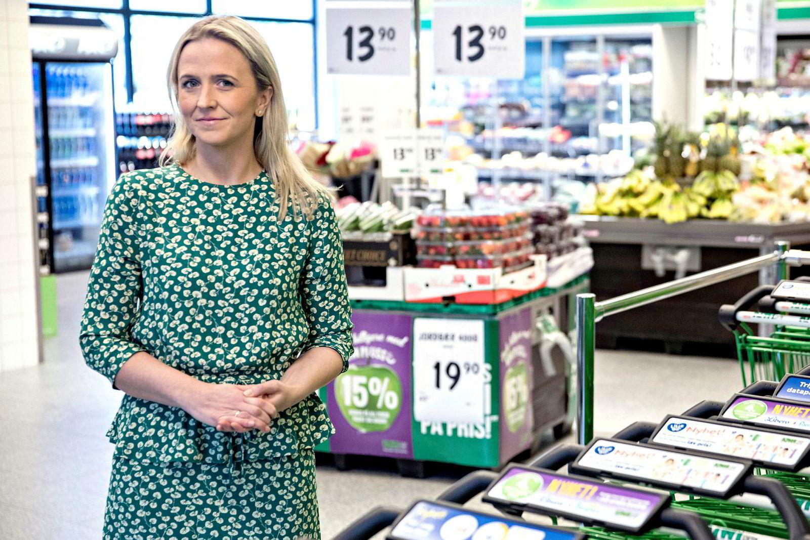 – Det er av hensyn til kundene vi har priskrig, ikke for å vinne VGs matbørser, sier Kiwis kommunikasjonssjef, Kristine Aakvaag Arvin.