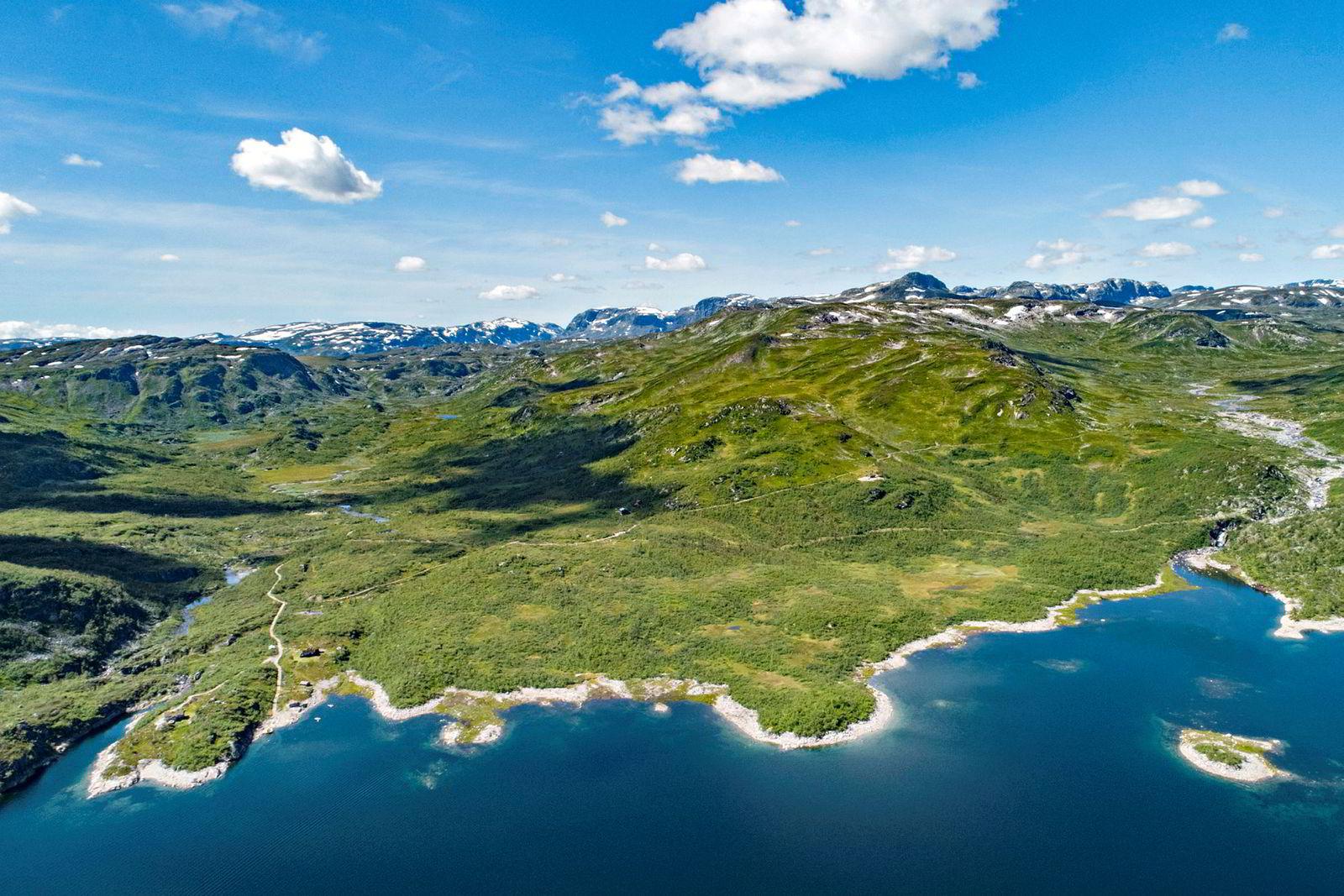 Jaktterrenget i Havradalen strekker seg innenfor Hardangerviddas nasjonalpark, og det står fire hytteeiendommer på eiendommen.