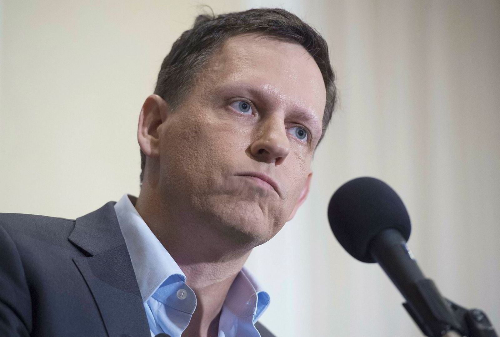 Peter Thiel, teknologiinvestor og medlem av Donald Trumps overgangsteam.