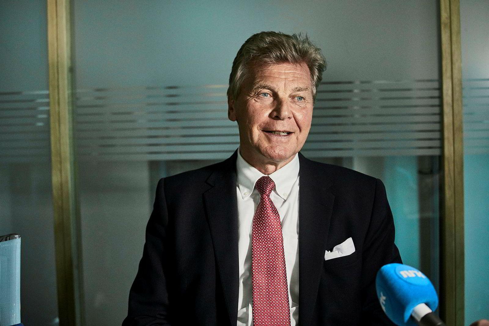 Bjørn Kise, styreleder og storaksjonær i Norwegian.