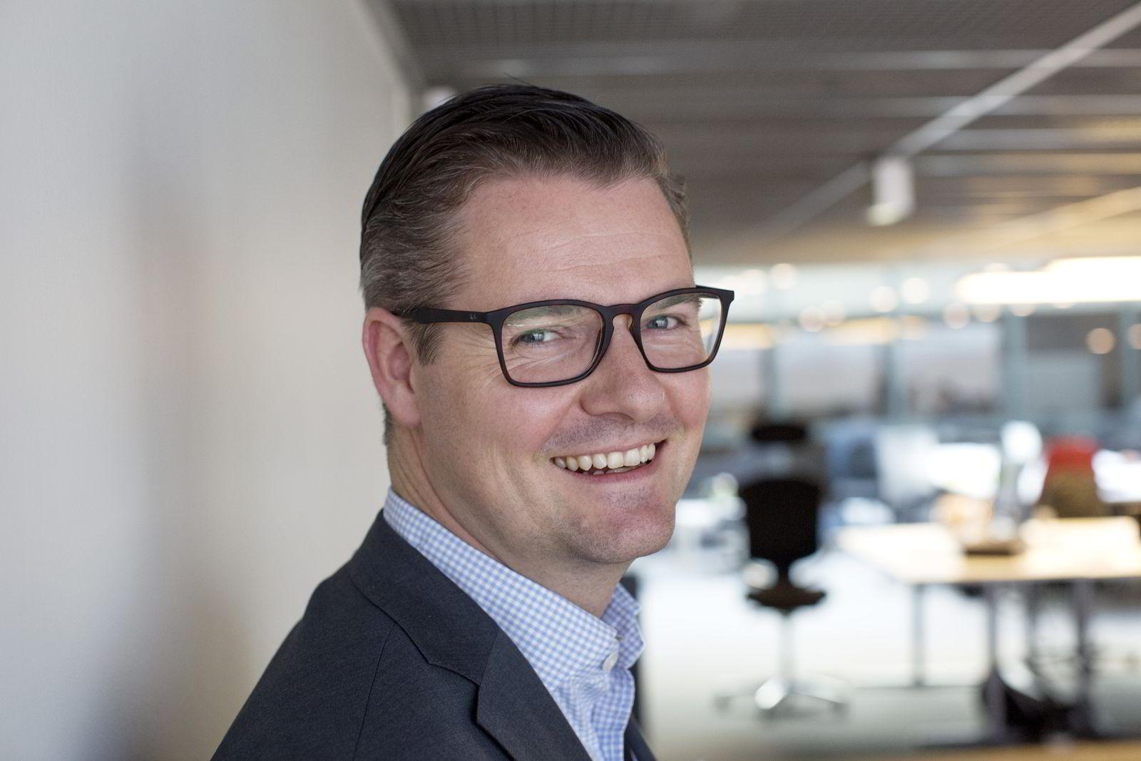 Daglig leder Ingar Bentsen i Fintech Factory. Foto: