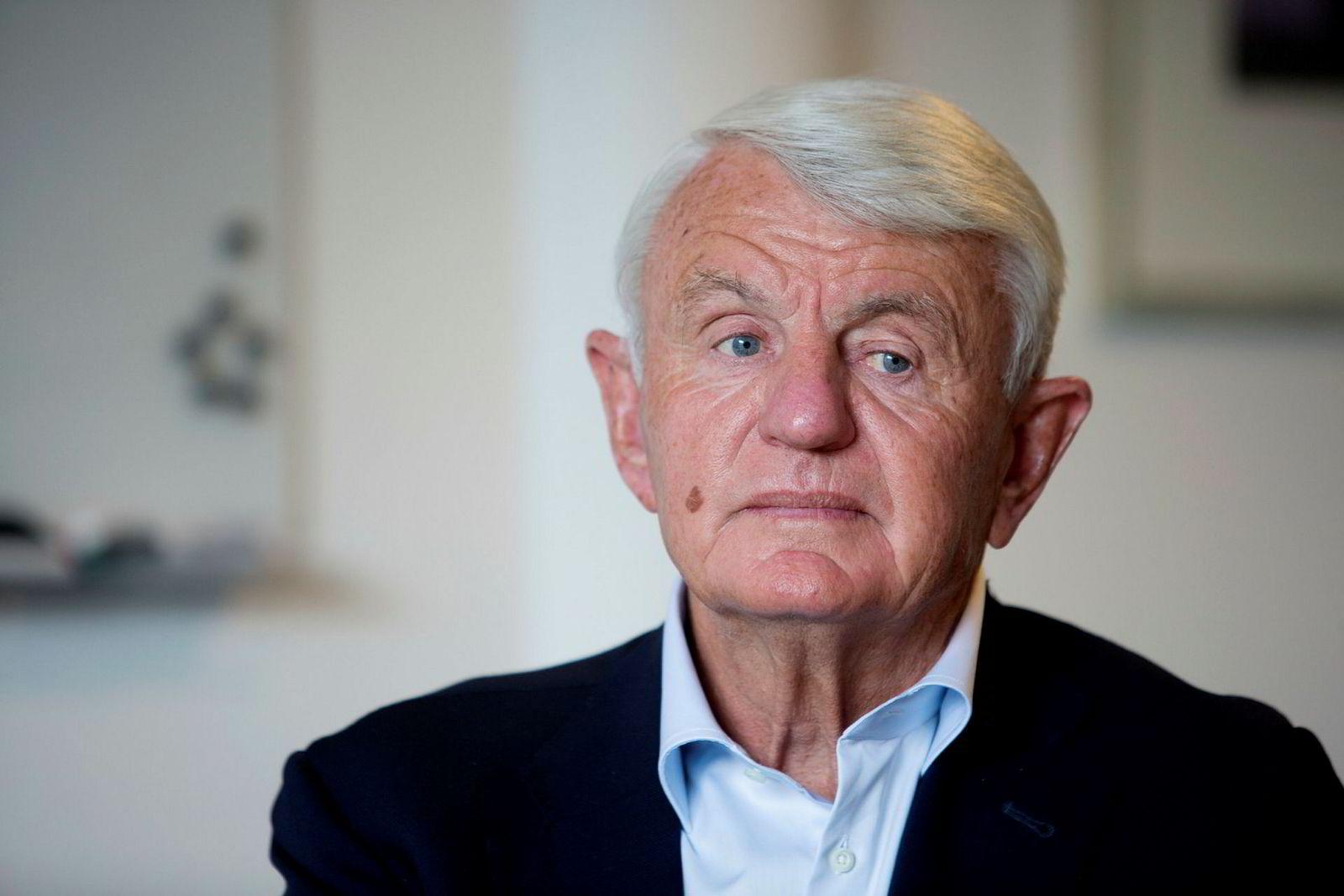 Egil Stenshagen er ikke fornøyd med kommunens saksbehandling i forbindelse med terrengarbeider på Bygdøy-eiendommen.