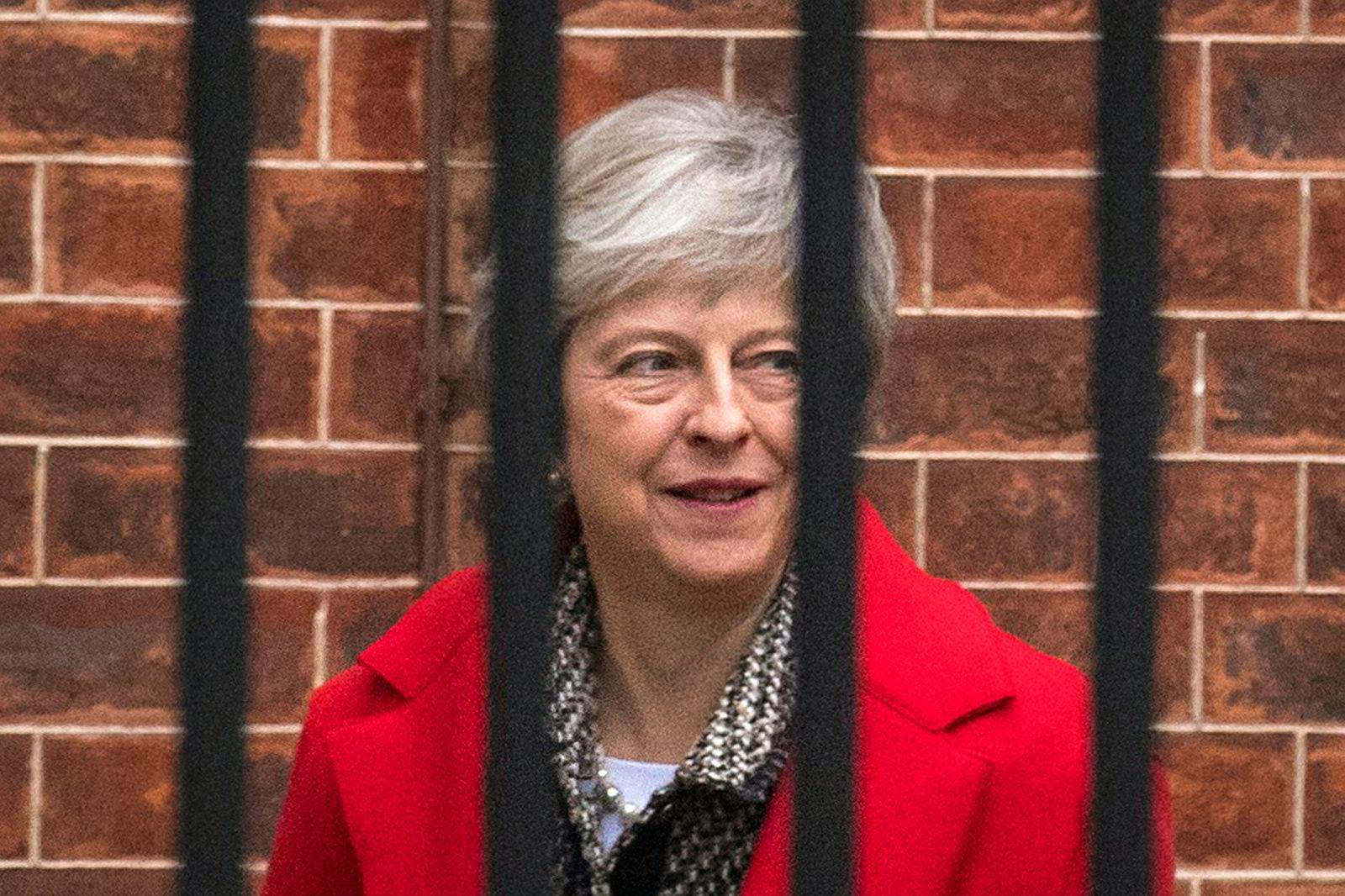 Den britiske statsministeren Theresa May er under press om dagen.