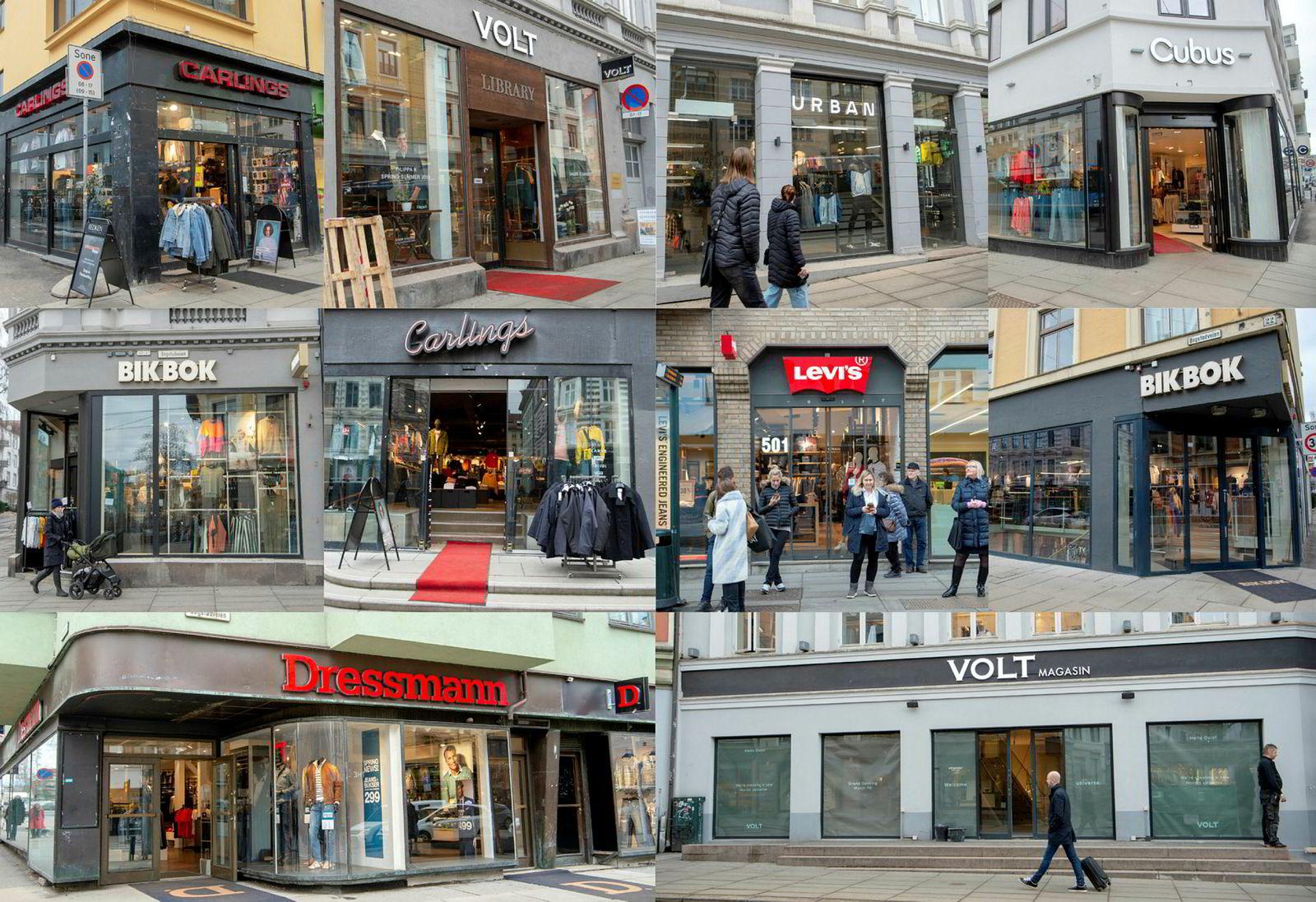 Langs Bogstadveien og Hegdehaugsveien har Varner-gruppen ti butikker fordelt på 800 meter.