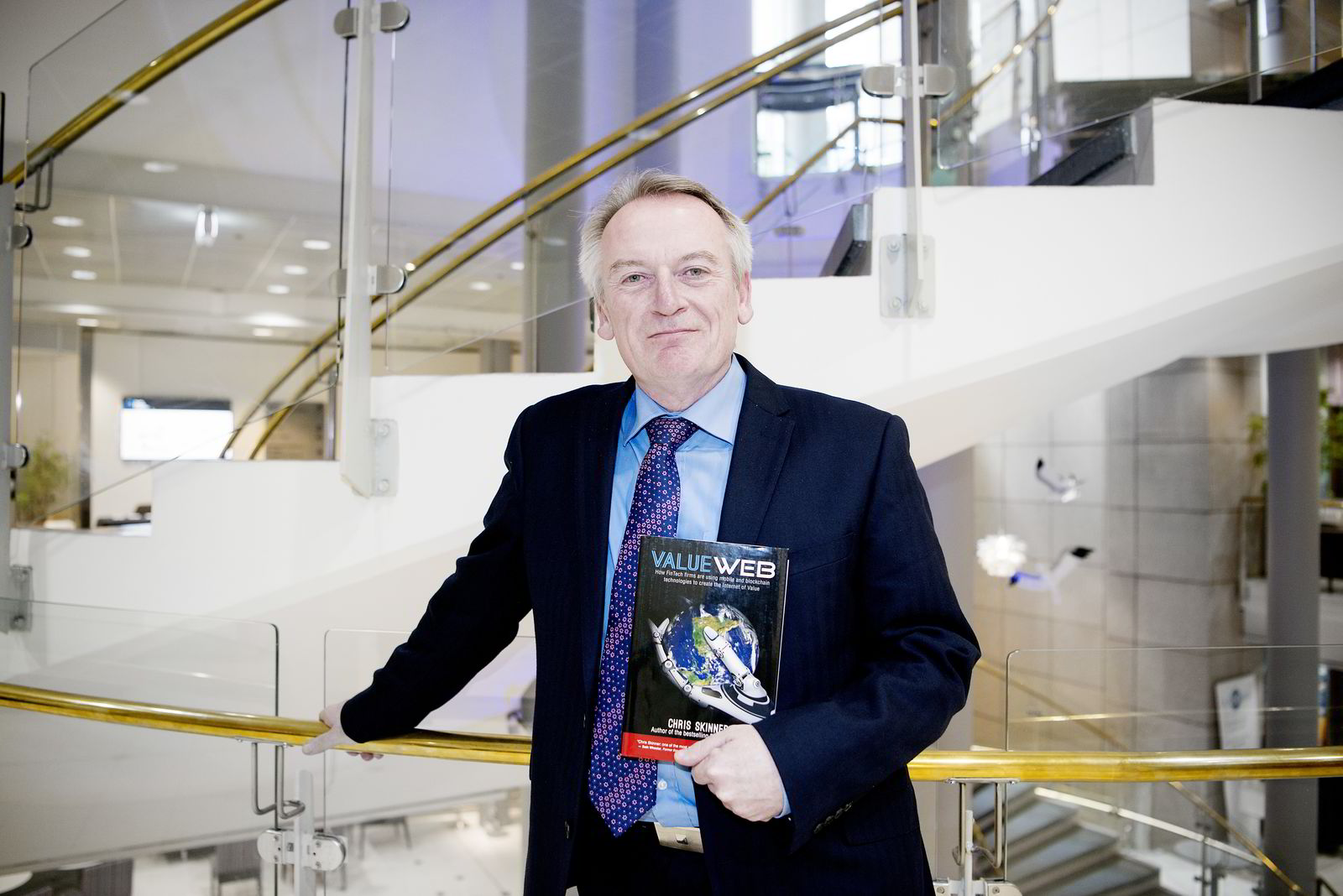 Forfatter og fintech-ekspert Chris Skinner.
