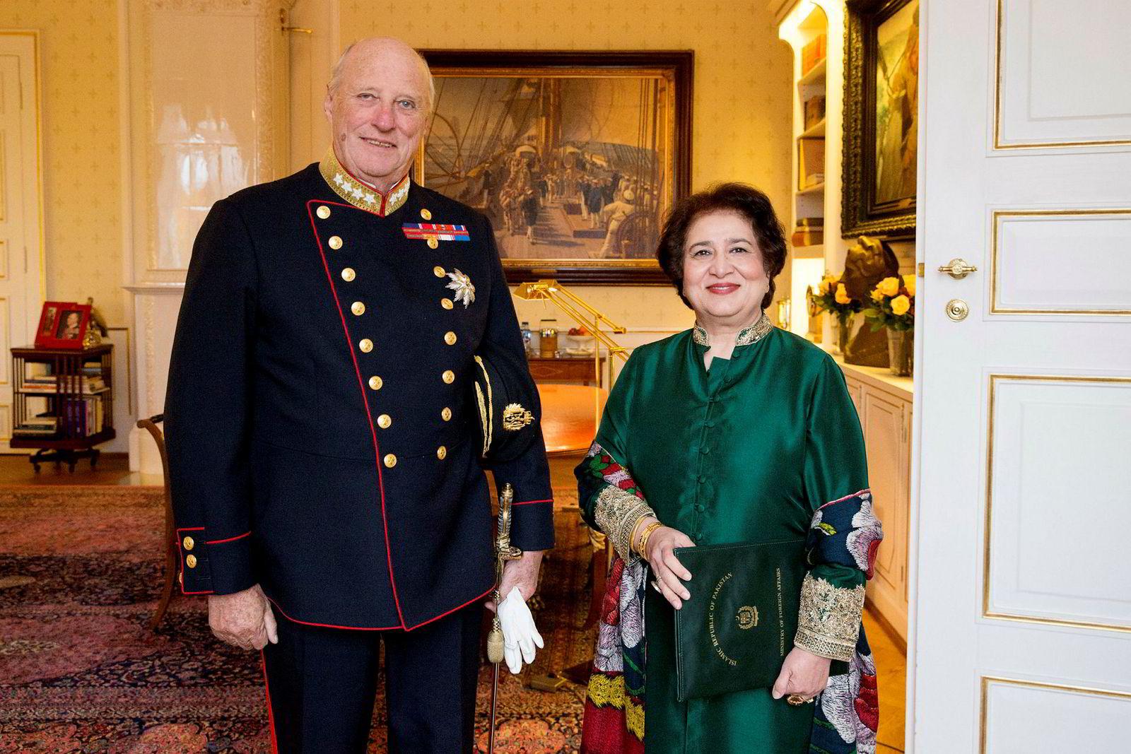 Pakistans forrige ambassadør til Norge, Riffat Masood.