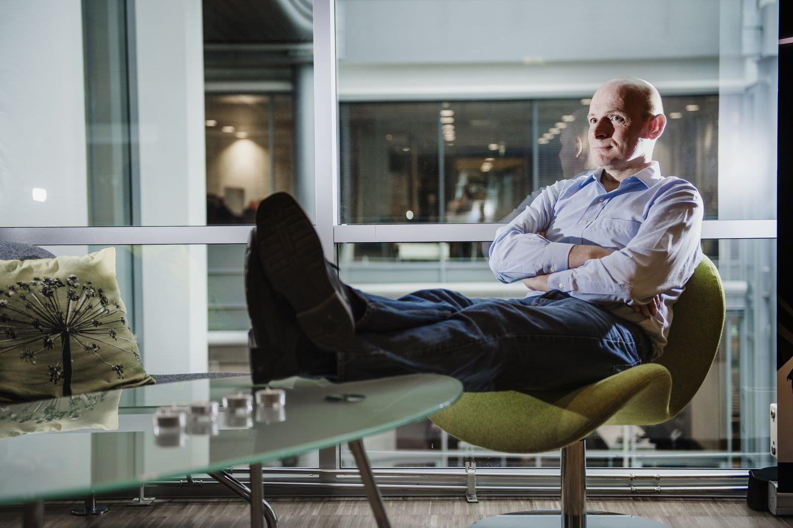 Seriegründer Geir Førre. Foto:Hampus Lundgren