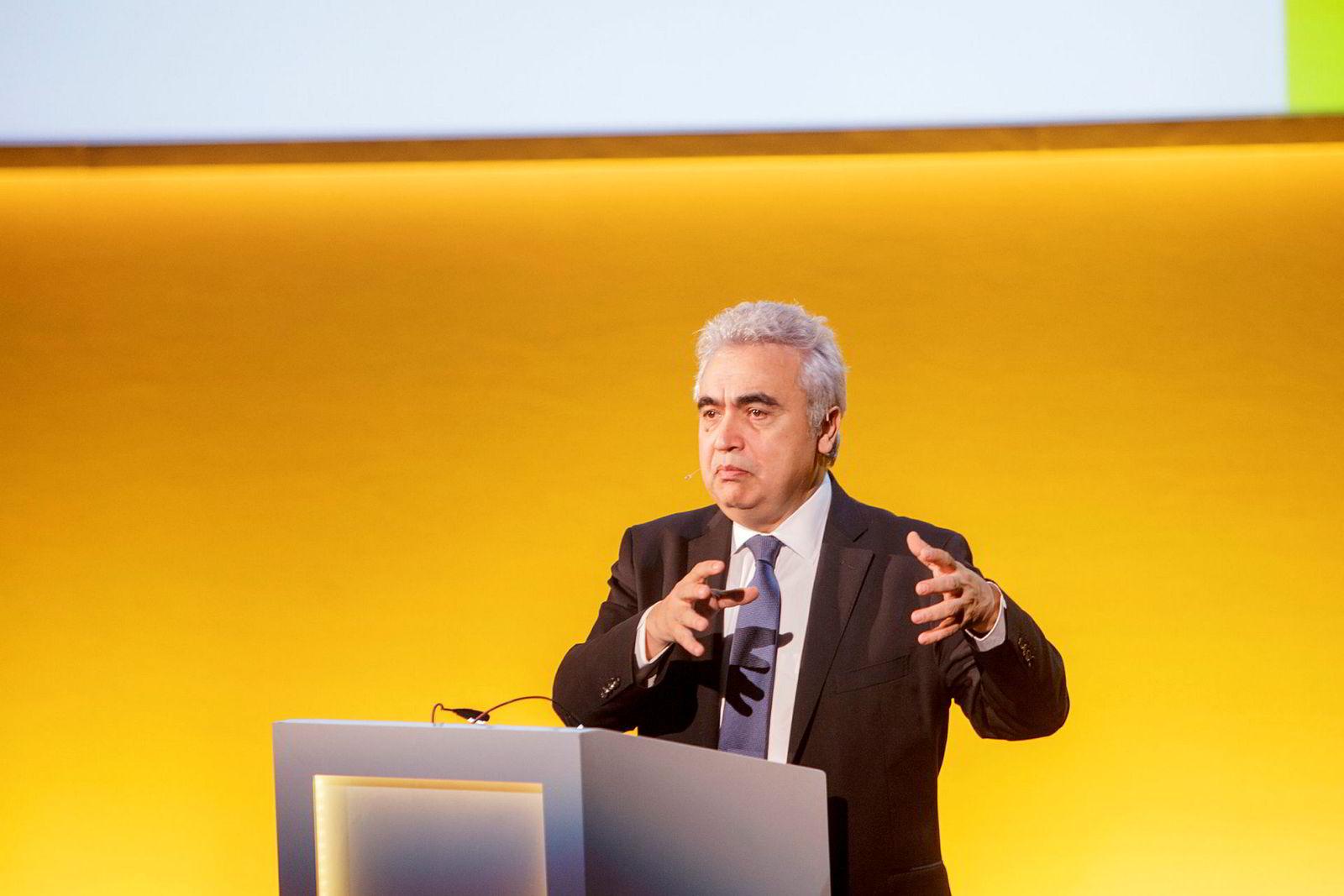 IEA og toppsjef Fatih Birol er ute med sitt seneste markedssyn torsdag.