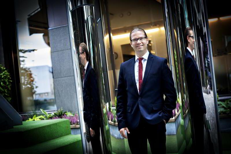 Seniorøkonom Marius Gonsholt Hov i Handelsbanken Capital Markets.