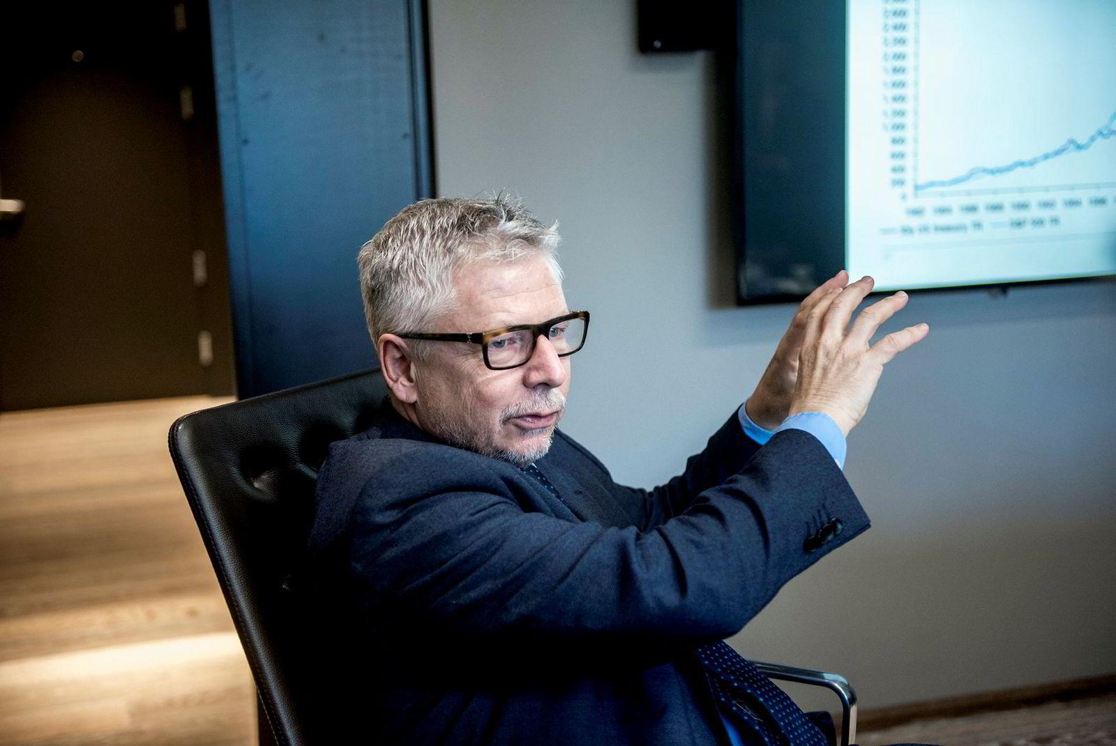 Erik Bruce, sjefanalytiker Nordea Markets.