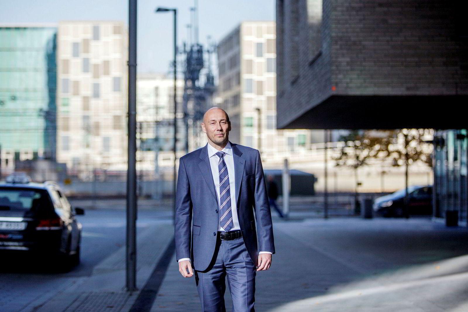 Helge André Martinsen, oljeanalytiker i DNB Markets.